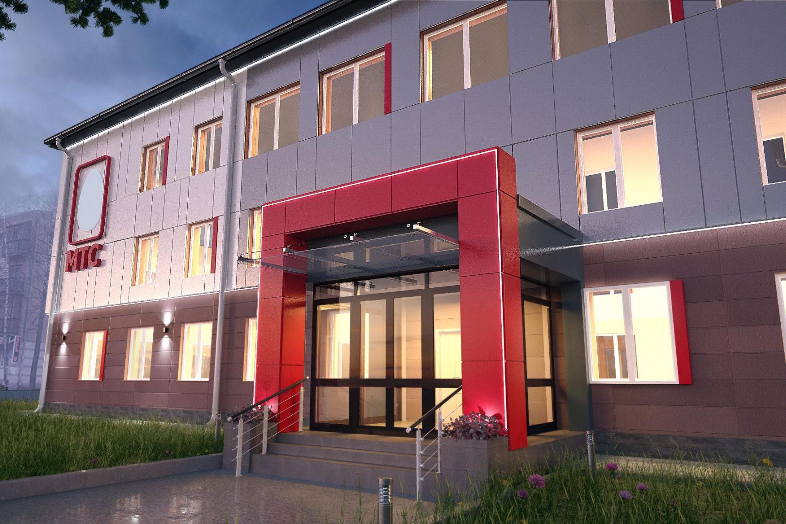 Капитальный ремонт административного здания на ул. Бекетова