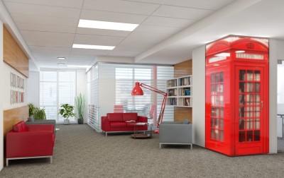 Интерьер офиса крупной IT компании