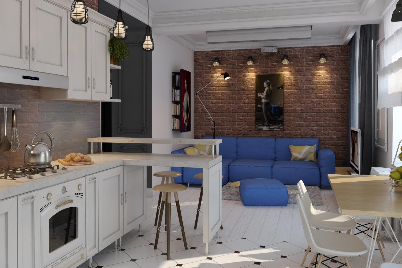Лофт-апартаменты для молодой пары