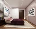 Квартира с яркой детской 70 КВ М