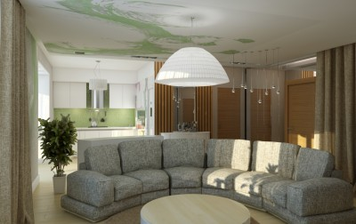 Квартира-студия в современном стиле