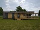 Небольшой дом с пристроенной баней